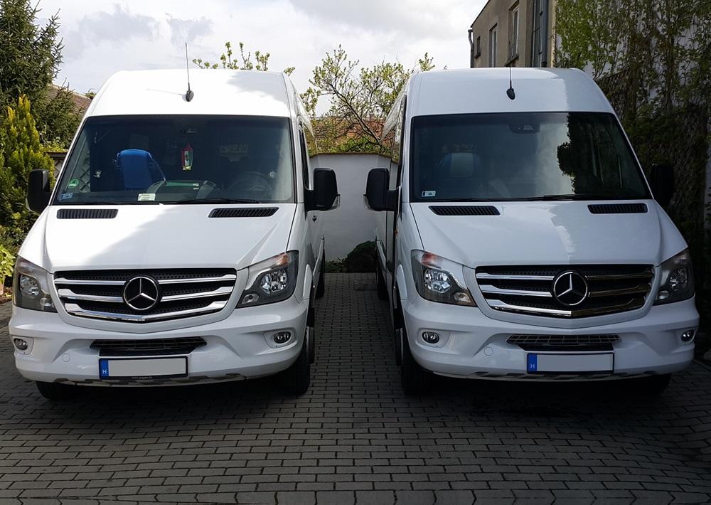 Mercedes-Benz Sprinter chauffeur service Budapest