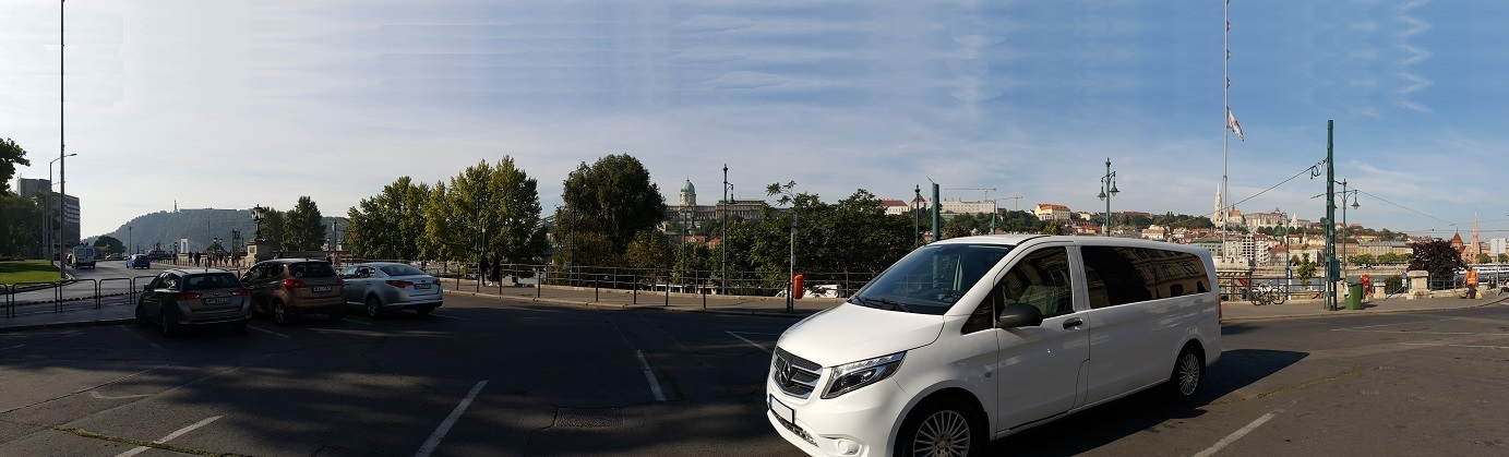 Mercedes-Benz Vito Tourer Select chauffeur service Budapest