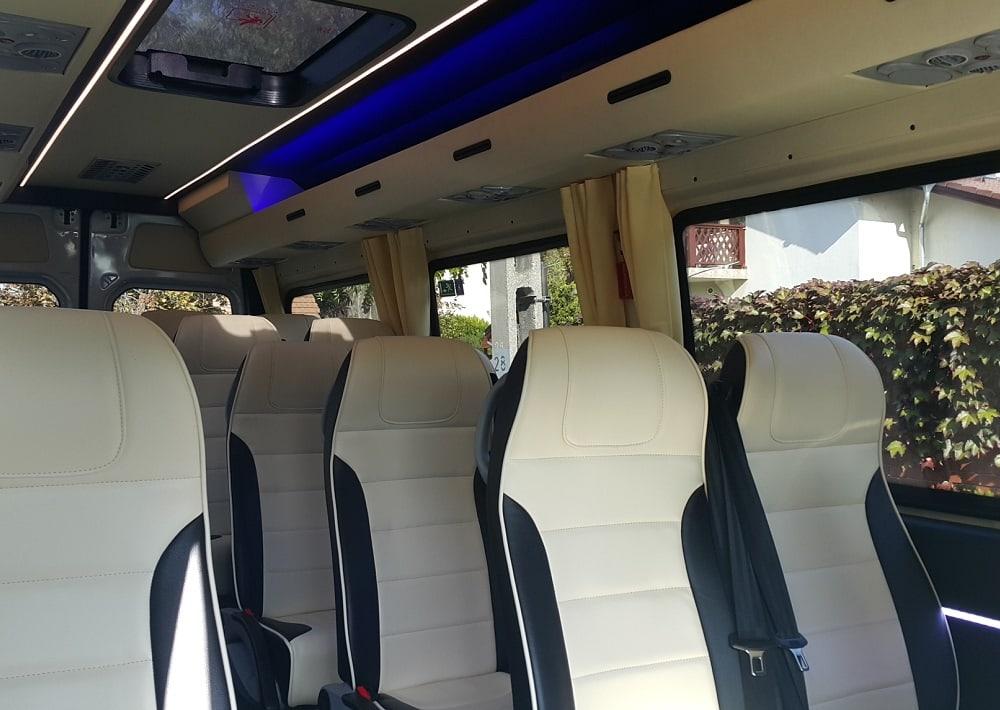 Mercedes Sprinter leather seats