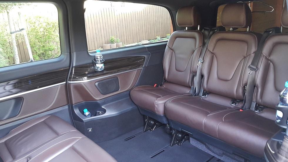 Mercedes-Benz V-Class interior